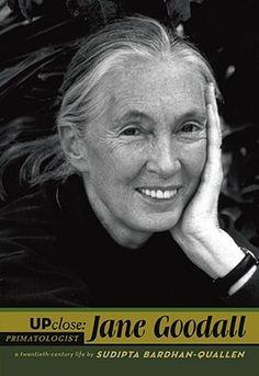 Jane Goodall (Up Close) , Sudipta Bardhan-Quallen, Viking Juvenile Jane Goodall, Forest Conservation, Chimpanzee, Primates, Women In History, Favorite Person, Good Books, Amazing Books, Biography
