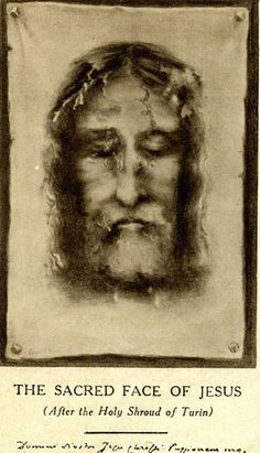 Devotion to the Holy Face of Jesus Pictures Of Jesus Christ, Names Of Jesus, Jesus Artwork, Mode Punk, Vintage Holy Cards, Christian Artwork, Religion Catolica, Jesus Face, Christ The King
