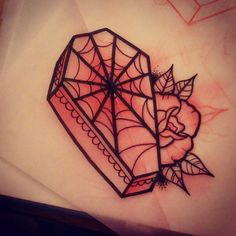 Coffin web available at Magic Tattoos