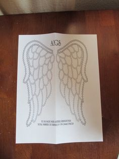 angel wing cutout tee pattern