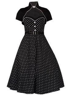 Kleid mit Top - Rockabilly Clothing - Online Shop für Rockabillies und Rockabellas