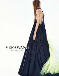 Ine Neefs by Patrick Demarchelier for Vera Wang SS15 | i love that you can see her attitude without even seeing her face.