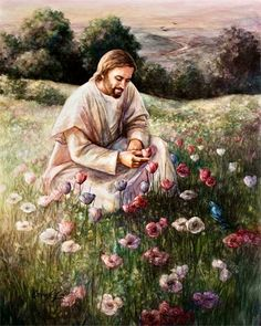 My personal Lord and Savior Christ Jesus! Bibel Journal, Lilies Of The Field, Pictures Of Jesus Christ, Lds Art, Prophetic Art, Jesus Art, Jesus Is Lord, The Kingdom Of God, Religious Art