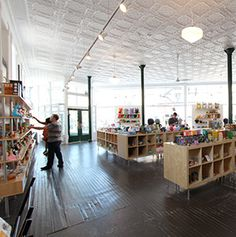I like the clean lines in this store. World's Greatest Toy Stores - Articles | Travel + Leisure, this one is in Prague