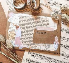 Bullet Journal Ideas Pages, Bullet Journal Inspiration, Art Journal Pages, Pen Pal Letters, Cute Letters, Crochet Handles, Mail Art Envelopes, Snail Mail Pen Pals, Note Doodles