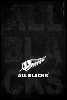 New Zealand's All Blacks Rugby team! All Blacks Rugby Team, Nz All Blacks, Rugby Sport, Rugby Wallpaper, Rugby Rules, Rugby Poster, The Great White, Rugby World Cup, Professional Logo Design