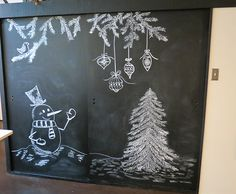 Christmas Chalkboard Art: A New Tradition | A Goode House
