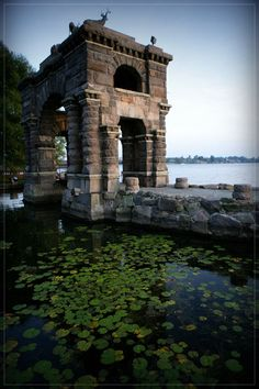 Entry Arch--Boldt Castle--Thousand Islands, New York