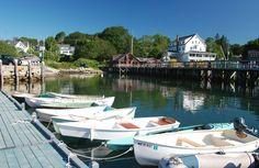 Focus on: Tenants Harbor, Maine Maine New England, Saint George, Coast, Tours, Pictures, Photos, Photo Illustration, Resim