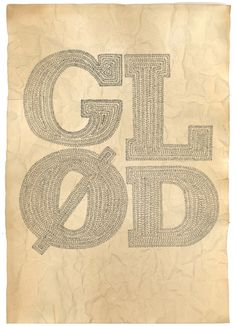 Sketches : Glød / Glow by Eirin Koehler Breivik, via Behance Red Orange Color, Book Projects, My Works, Glow, Typography, Sketches, Behance, Symbols, Shapes