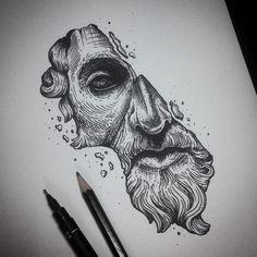 Resultado de imagen de zeus tattoo