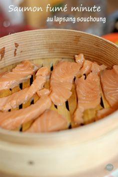 saumon fumé aux vapeurs de thé