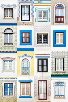 Windows around the world: Ericeira, Portugal (Foto: André Vicente Gonçalves / divu)
