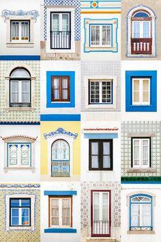 Windows around the world: Ericeira, Portugal (Foto: André Vicente Gonçalves / divu)