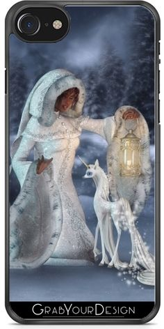 GrabYourDesign - Case for Iphone 7/7S Magic winternight  - by Illu-Pic.-A.T.Art