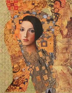 Homage to Klimt by KanchanCollage.deviantart.com on @DeviantArt