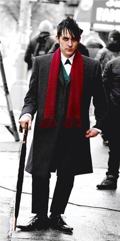 Oswald Cobblepot! Robin Lord Taylor! Gotham!