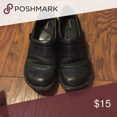 Black casual shoes Worn few times but good condition Sonoma Shoes Flats & Loafers
