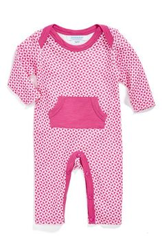 jaxxwear+Print+Pima+Cotton+Romper+(Baby+Girls)+available+at+#Nordstrom