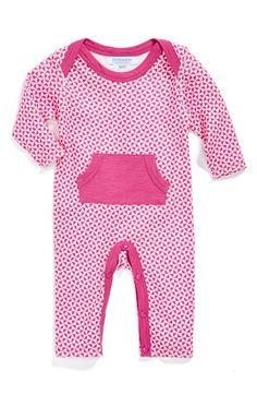 jaxxwear+Print+Pima+Cotton+Romper+(Baby+Girls)+available+at+#Nordstrom