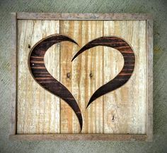 Teds Wood Working - Don't think twice to discuss your best wood working ventures and ides on woodblizzards. - Get A Lifetime Of Project Ideas & Inspiration! Arte Pallet, Pallet Art, Diy Pallet, Pallet Ideas, Pallet Crafts, Wooden Crafts, Rustic Wood Crafts, Rustic Decor, Diy Crafts