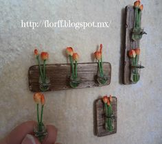 Flower & FF: Tutorial → Wood, Crystal and tulips ♥