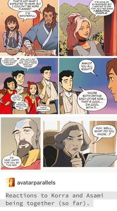 Zutara Discover Requests are closed Korrasami in the Legend of Korra comics - Korra and Asami Sato in Turf Wars part 1 and 2 The Last Avatar, Avatar The Last Airbender Art, Korra Avatar, Team Avatar, Korra Comic, Asami Sato, Avatar Funny, Avatar World, Naruto E Boruto