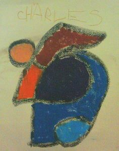 Art through a child's eyes -Charlie Steggles, age 5 (Toronto)