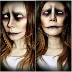 Reposting my #undead makeup because I've been getting a lot of request to do a #youtube tutorial for this look since it's pretty easy and quick to do. I didn't want to redo any of the looks I've already done, but this look is something you can recreate la | CHRISTINA SUH | NYX