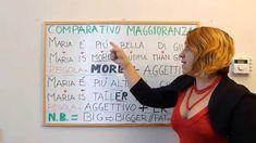 Corso Inglese: Comparativo MAGGIORANZA + Esercizi