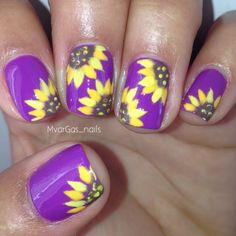 Summer nails , purple is wet n wild who is ultra violet? - Summer nails , purple is wet n wild who is ultra violet? Summer nails , purple is wet n wild who is ultra violet? Purple Nail Designs, Nail Art Designs, Nails Design, Fall Toe Nail Designs, Sunflower Nails, Wet N Wild, Fingernail Designs, Trendy Nail Art, Purple Nails