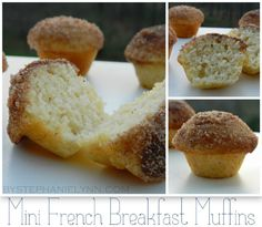 mini french breakfast muffins by {under the table & dreaming}