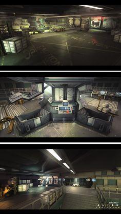 ArtStation - Alien: Isolation Concept art 05, Brad Wright