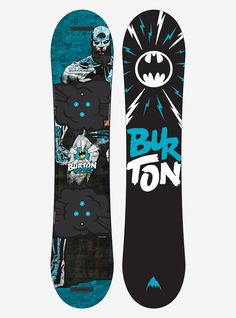 Boys' DC Comics x Burton Chopper Snowboard shown in 110