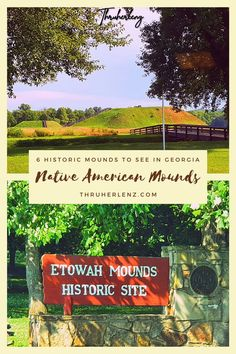 Learning about history as you travel is utterly important. As a Georgia resident, I love to explore the indigenous history found in Georgia. If Georgia is on your travel list, take a road trip to visit 6 of the Native American Indian Mounds that you can visit today! There's so much to explore and this is one of the many things you can do in Georgia that is outside of the city of Atlanta.