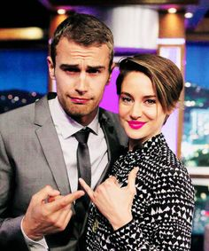 Just want to point out that it looks like Theo is wearing shai's lipstick..