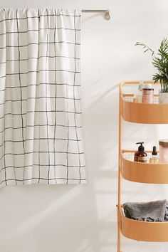 Wonky Grid Bath Towel - Urban Outfitters