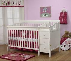 Orbelle Sarah Crib N Bed - White - casa.com