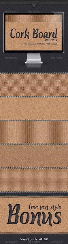 Cork Board Patterns