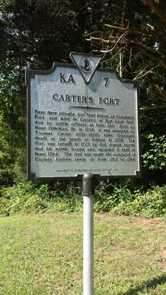 Carter's fort