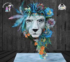 Lion Gravity cake !!!!