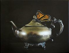 Teapot and Monarch - Jane Crisp 2013