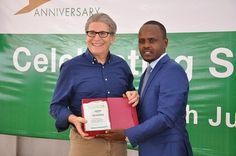 Tim Schilling celebrated for his contribution to Rwandan coffee