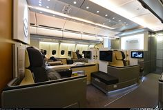 The Lufthansa 1st Class Product: Airbus A330-343 aircraft picture