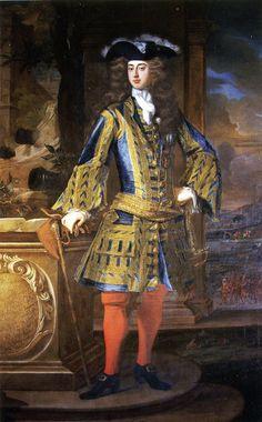 John Manners, 2nd Duke of Rutland, oil by Jean-Baptiste Closterman c. 1730s, Belvoir Castle