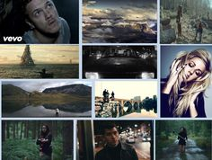 This mood board is examples of music videos we watched to see the relationship between each video. Imagine Dragons                                    Bon Iver                                    Ellie Golding                                    Arctic Monkeys