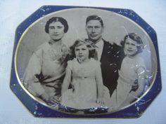 Blue Bird Tin  Vintage Toffee Tin  Collector Tin  by BeckVintage, $32.00