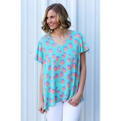 Avril Mint Top from Shop Southern Roots TX