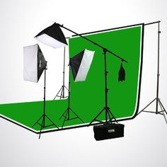 ePhoto H9004SB-69BWG Photography Studio Video Lighting Chromakey Screen 3 Muslin Backdrops Lighting Kit Background Support Kit-Green/Black/White ePhoto http://www.amazon.com/dp/B0054K9138/ref=cm_sw_r_pi_dp_7Ga7ub0EYYPTW