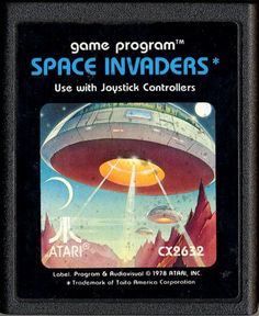 AtariAge - Atari 2600 Cartridge Scans - Space Invaders (Atari)